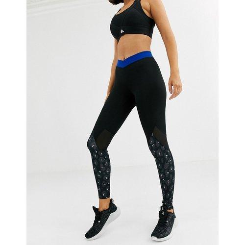Adidas Training- Legging à imprimé léopard - adidas performance - Modalova