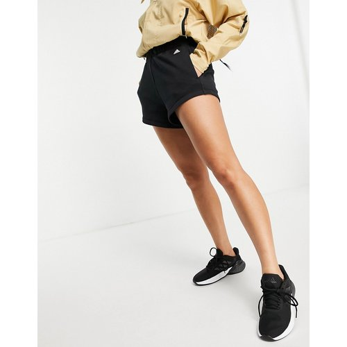 Adidas Training - Short taille haute tissé à écusson logo - adidas performance - Modalova