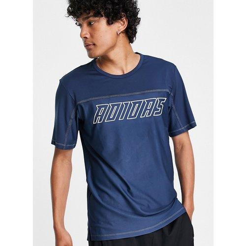Adidas Training - T-shirt à logo - Bleu - adidas performance - Modalova