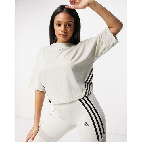 Adidas Training - T-shirt court à 3 bandes - adidas performance - Modalova