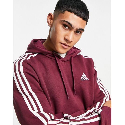 Adidas - ZNE - Hoodie à trois bandes - Bordeaux - adidas performance - Modalova
