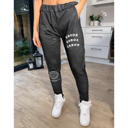 Jogger confort à motif Error - délavé - Adolescent Clothing - Modalova