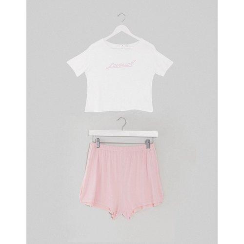 Love Sick - T-shirt et short de pyjama - Adolescent Clothing - Modalova
