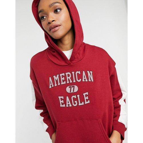 Hoodie à enfiler avec logo - AMERICAN EAGLE - Modalova