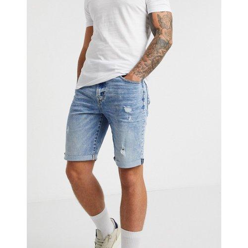- Short en jean style découpé à effet vieilli et délavagemoyen - American Eagle - Modalova