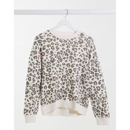 Sweat-shirt motif léopard - AMERICAN EAGLE - Modalova