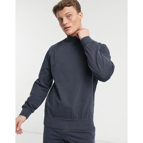 Sweat-shirt d'ensemble à col montant - délavé - Another Influence - Modalova