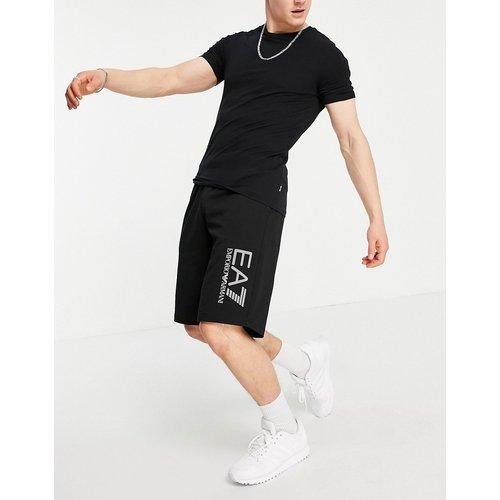 Armani - Visibility - Short en jersey de tissu éponge - EA7 - Modalova