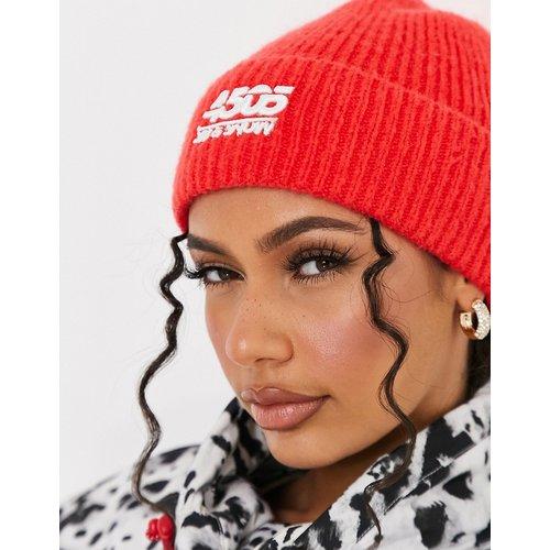Bonnet de ski en maille duveteuse - ASOS 4505 - Modalova