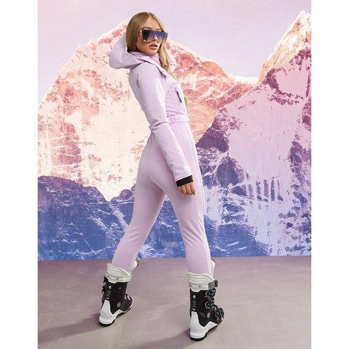 Combinaison de ski ajustée à capuche avec ceinture - ASOS 4505 - Modalova