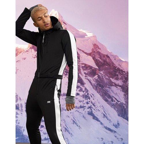 Combinaison de ski coupe slim à bande latérale - ASOS 4505 - Modalova