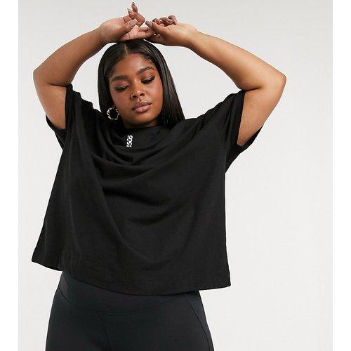 Curve - T-shirt oversize emblématique en coton - ASOS 4505 - Modalova
