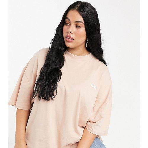 Curve - T-shirt oversize en coton - ASOS 4505 - Modalova