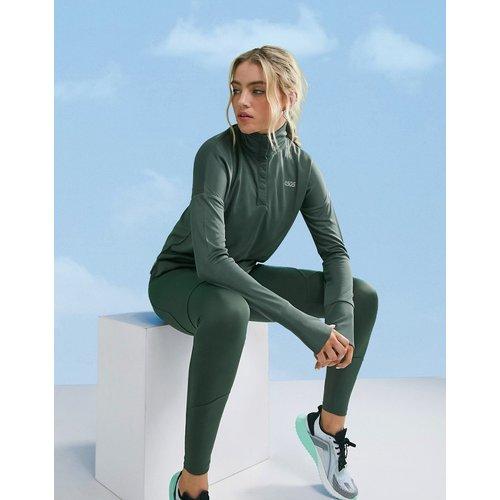 Legging à logo emblématique avecpoche et coutures sculptantes à l'arrière - ASOS 4505 - Modalova