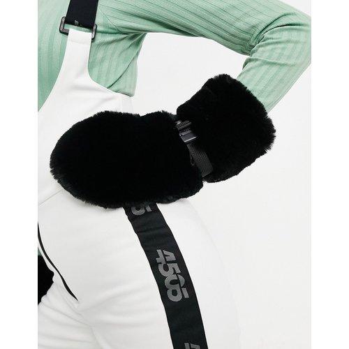 Moufles de ski en fausse fourrure - ASOS 4505 - Modalova