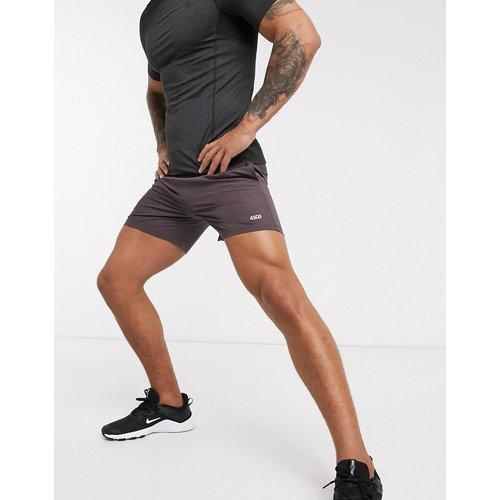 Short de sport mi-long à séchage rapide avec logo - - ASOS 4505 - Modalova