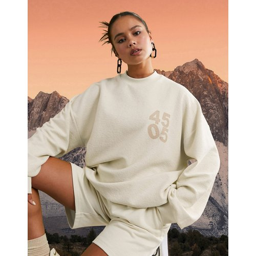 Sweat-shirt à logo oversize - ASOS 4505 - Modalova