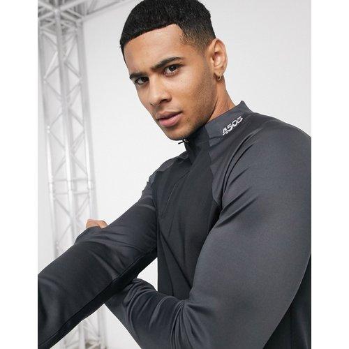 Sweat-shirt avec fermeture éclair 1/4 - ASOS 4505 - Modalova