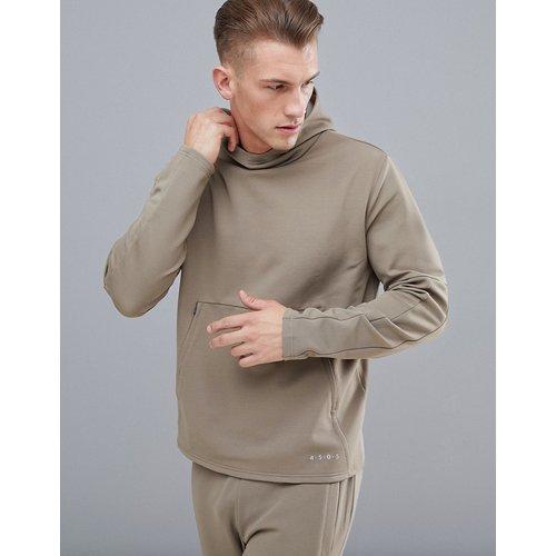 Sweat-shirt effet coupé-cousu - ASOS 4505 - Modalova