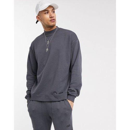 Sweat-shirt oversize avec faux col - ASOS 4505 - Modalova