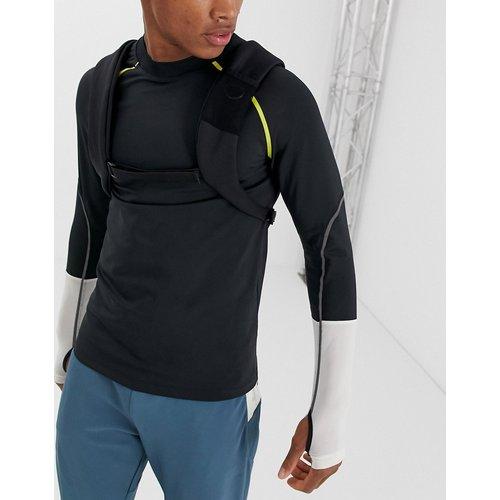 T-shirt de running à manches longues avec bandes et trous pour les pouces - ASOS 4505 - Modalova