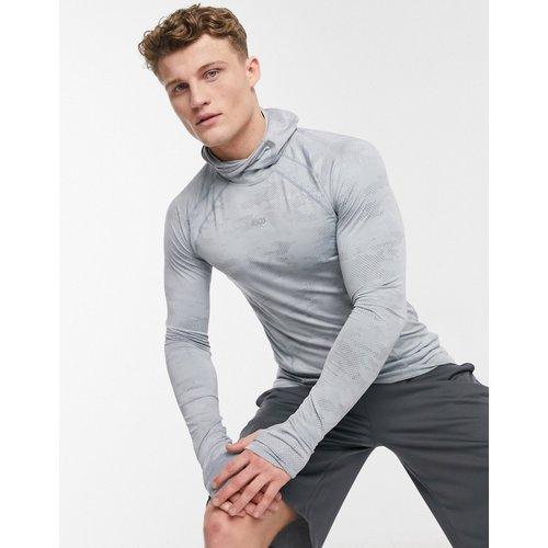 T-shirt de sous-vêtement à manches longues avec capuche - ASOS 4505 - Modalova