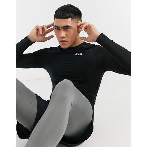 T-shirt de sous-vêtement à manches longues en polyester recyclé - ASOS 4505 - Modalova