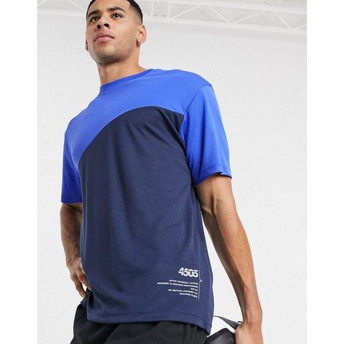 T-shirt de sport à empiècement contrastant - ASOS 4505 - Modalova