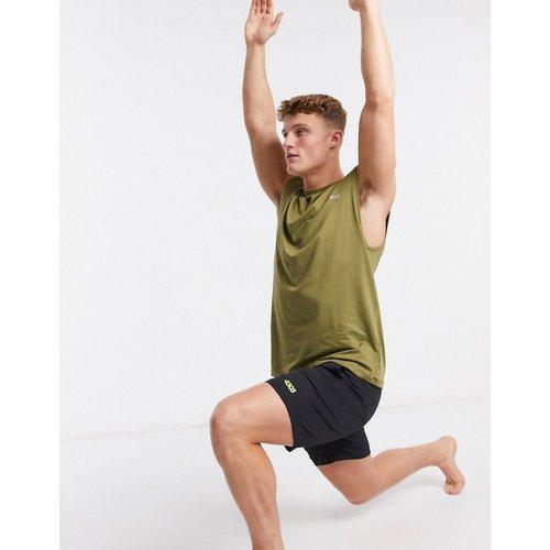 T-shirt de yoga sans manches en jersey doux au toucher - ASOS 4505 - Modalova