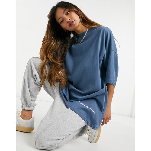ASOS 4505 - T-shirt oversize-Bleu - ASOS 4505 - Modalova