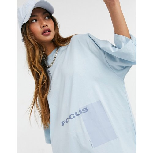 T-shirt oversize unisexe à imprimé - ASOS 4505 - Modalova