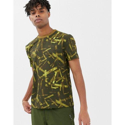 T-shirt tissé à imprimé camouflage et poches fonctionnelles - ASOS 4505 - Modalova