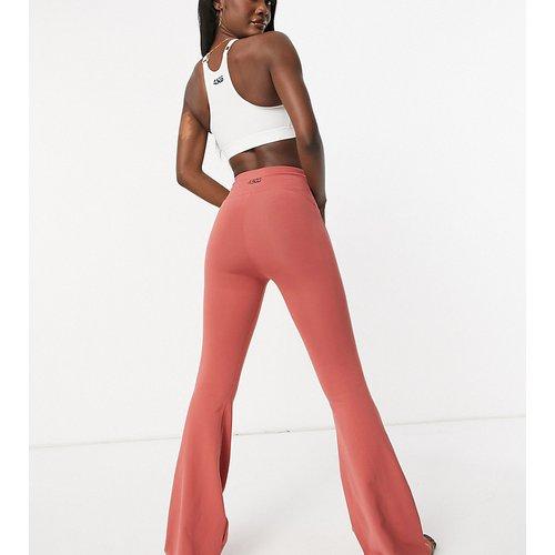 Tall - Pantalon de yoga évasé en coton doux - ASOS 4505 - Modalova
