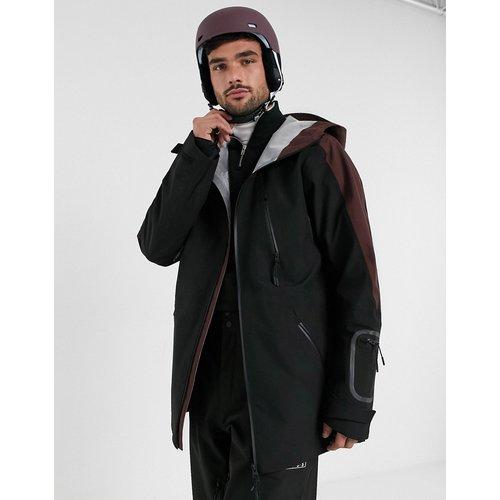 Veste de ski à capuche avec empiècement contrastant - ASOS 4505 - Modalova