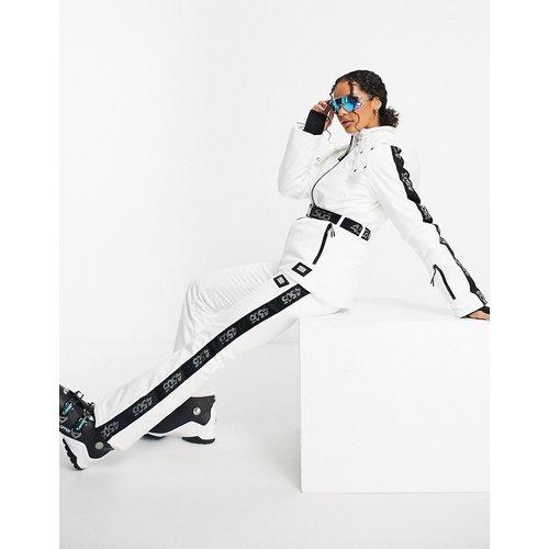 Veste de ski à ceinture et logo - Monochrome - ASOS 4505 - Modalova