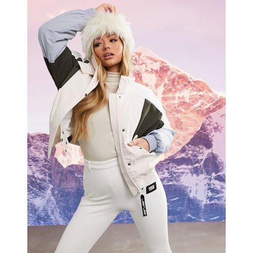 Veste de ski color block - Pastel - ASOS 4505 - Modalova