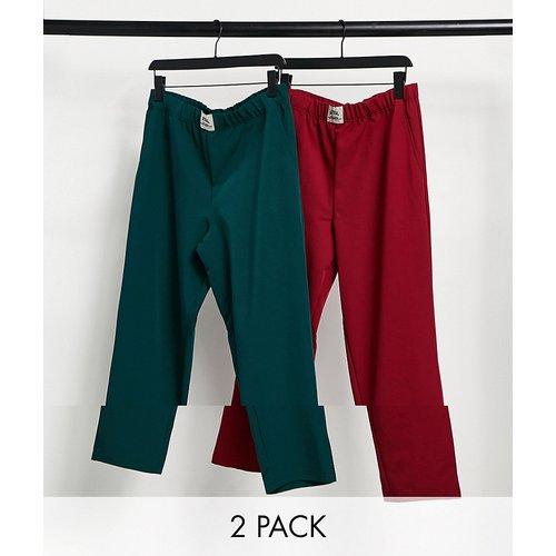 Lot de 2bas de pyjama confort - ASOS Actual - Modalova