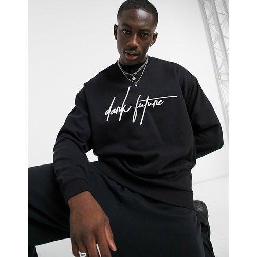 Sweat-shirt oversize avec logo imprimé - ASOS Dark Future - Modalova