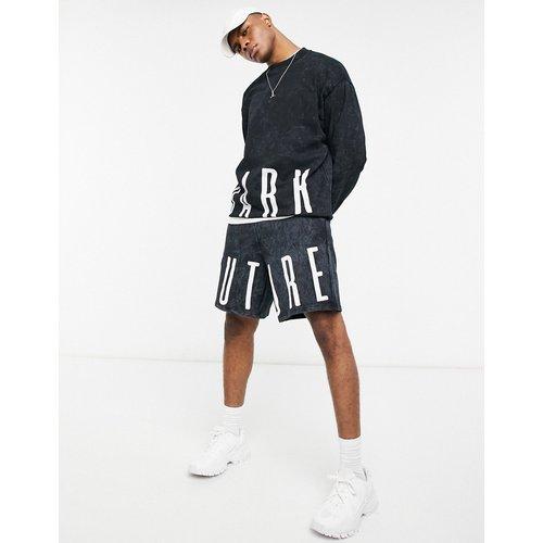 ASOS - Dark Future - Sweat-shirt oversize d'ensemble - délavé - ASOS Dark Future - Modalova