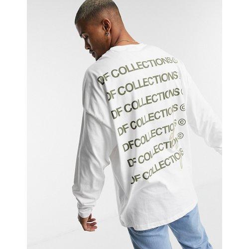 ASOS - Dark Future - T-shirt à manches longues avec logo kaki - ASOS Dark Future - Modalova