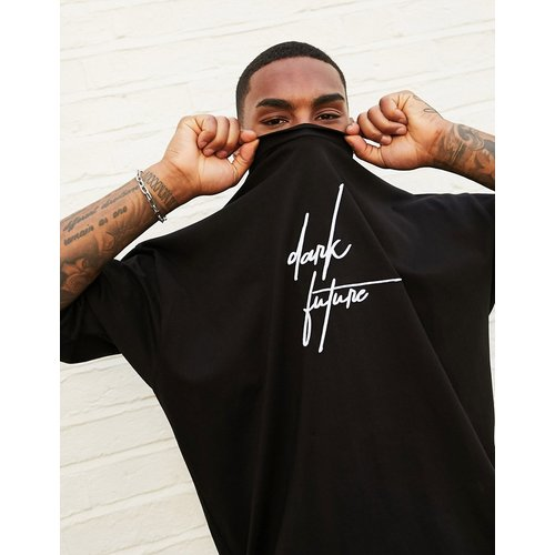 T-shirt oversize épais avec logo Dark Future - ASOS Dark Future - Modalova