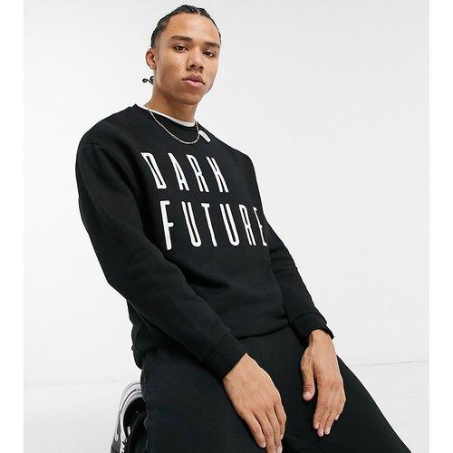 Tall - Sweat-shirt oversize à logo sur la poitrine - ASOS Dark Future - Modalova