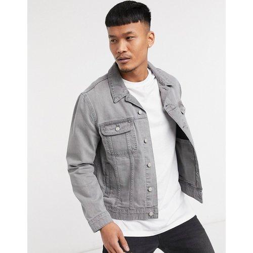 Veste en jean classique avec imprimé au dos - ASOS Dark Future - Modalova