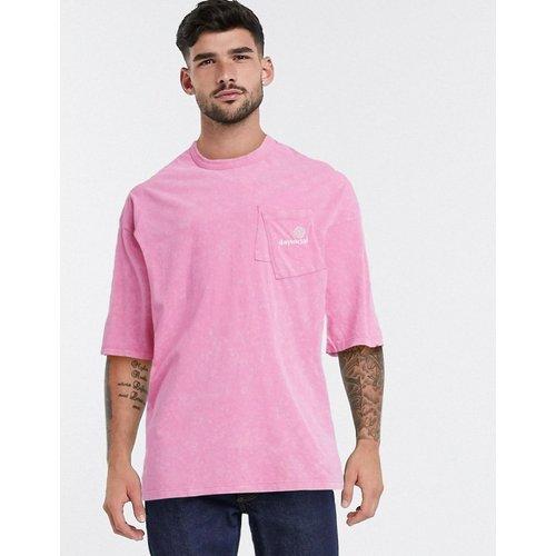 ASOS - Day Social - T-shirt long oversizeavec poches superposées et logo Day Social brodé - ASOS Day Social - Modalova