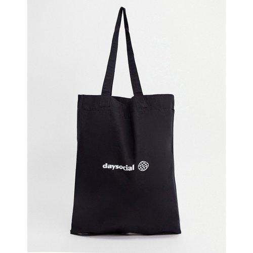 ASOS - Day Social - Tote bag en coton biologique - ASOS Day Social - Modalova