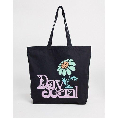 ASOS - Day Social - Tote bag oversize imprimé marguerite - ASOS Day Social - Modalova