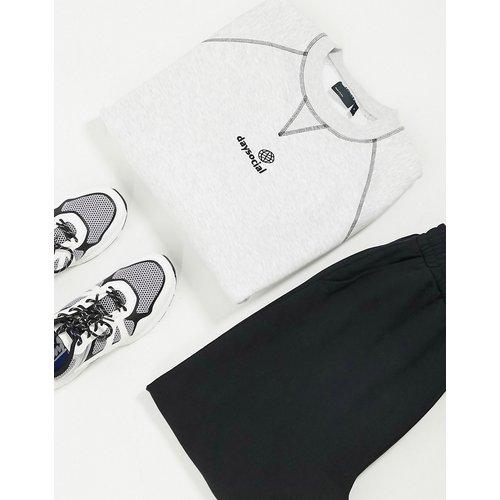 ASOS Daysocial - Sweat-shirt à logo - chiné - ASOS Day Social - Modalova