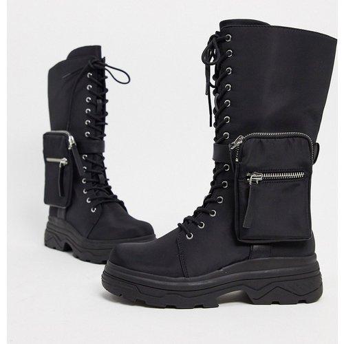 Active sporty boots with bag - ASOS DESIGN - Modalova