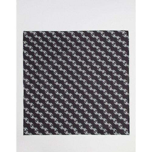 Bandana en coton à imprimé monogramme - ASOS DESIGN - Modalova