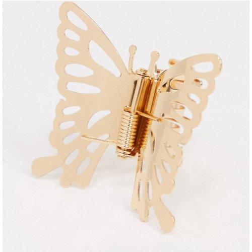 Barrette à cheveux motif papillon - ASOS DESIGN - Modalova